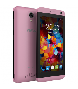 "Telefon Mobil Vivax Smart Fun S10 Rose Gold, Dual Sim, 4.5"", Quad-Core MTK6580M, 8GB, 3G, Rose Gold"