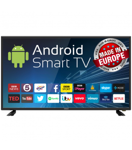 Televizor LED Vivax Imago Smart Android, 102 cm, 40, LED TV-40LE77SM, HD Ready