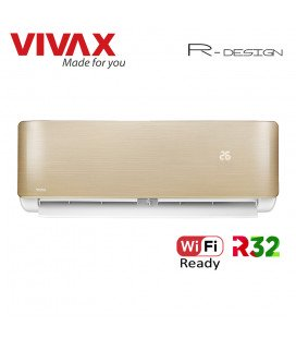 Aer Conditionat VIVAX R-Design ACP-12CH35AERI GOLD Wi-Fi Ready Inverter 12000 BTU/h