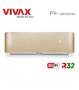 Aer Conditionat VIVAX R-Design ACP-12CH35AERI GOLD Wi-Fi Inverter 12000 BTU/h