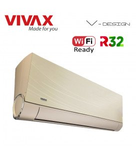 Aer Conditionat VIVAX V-Design ACP-12CH35AEVI GOLD Wi-Fi Ready Inverter 12000 BTU/h