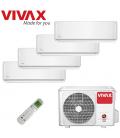 Aer Conditionat MULTISPLIT VIVAX ACP-28COFM82AERI / 3xACP-09CIFM25AERI+ACP-12CIFM35AERI INVERTER 3x9000+12000 BTU/H