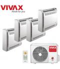 Aer Conditionat MULTISPLIT de Pardoseala VIVAX ACP-36COFM105AERI / 2xACP-09CTIFM25AERI+2xACP-12CTIFM35AERI INVERTER 2x9K+2x12K