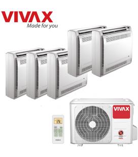 Aer Conditionat MULTISPLIT de Pardoseala VIVAX ACP-42COFM123AERI / 5xACP-09CTIFM25AERI INVERTER 5x9000 BTU/H