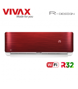 Aer Conditionat VIVAX R-Design ACP-12CH35AERI RED Wi-Fi R32 Inverter 12000 BTU/h