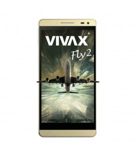 Telefon Mobil Vivax Smart Fly 2 Gold, Dual Sim, 5, Quad-Core Cortex-A53, 16GB, 4G, Gold