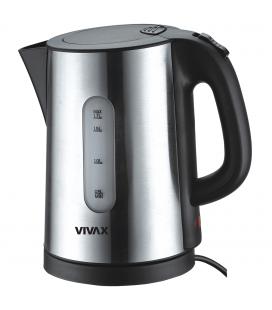 Fierbator Vivax WH-173 SL, 2200 W, 1,7 l, Inox/Negru