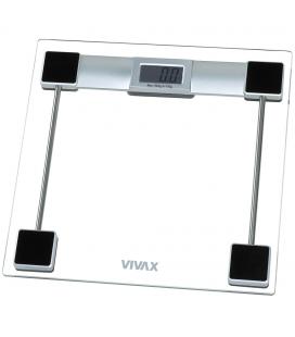 Cantar electronic de persoane Vivax PS-154, 150 kg, sticla, Transparent