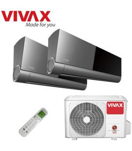 Aer Conditionat MULTISPLIT VIVAX ACP-18COFM50AERI / 2x ACP-09CIFM25AEVI INVERTER 2x9000 BTU/H