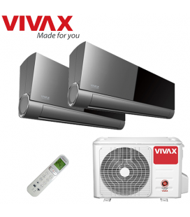 Aer Conditionat MULTISPLIT VIVAX ACP-18COFM50AERI / 2x ACP-12CIFM35AEVI INVERTER 2x12000 BTU/H
