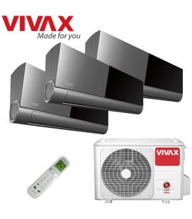 Aer Conditionat MULTISPLIT VIVAX ACP-27COFM79AERI / 3x ACP-09CIFM25AEVI INVERTER 3x9000 BTU/H